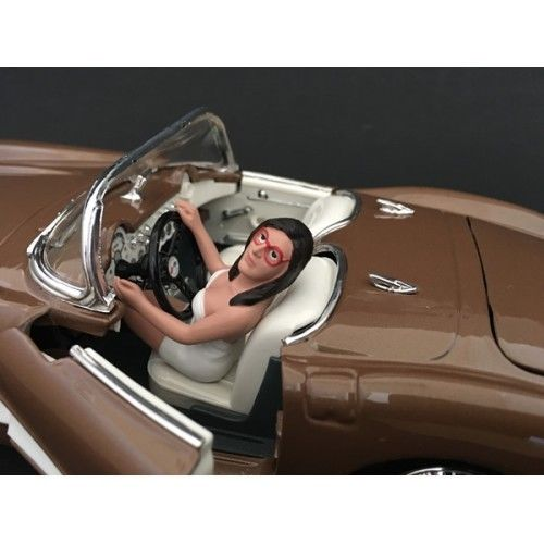 Female Driving Figurine for 1/18 Scale Models by American Diorama