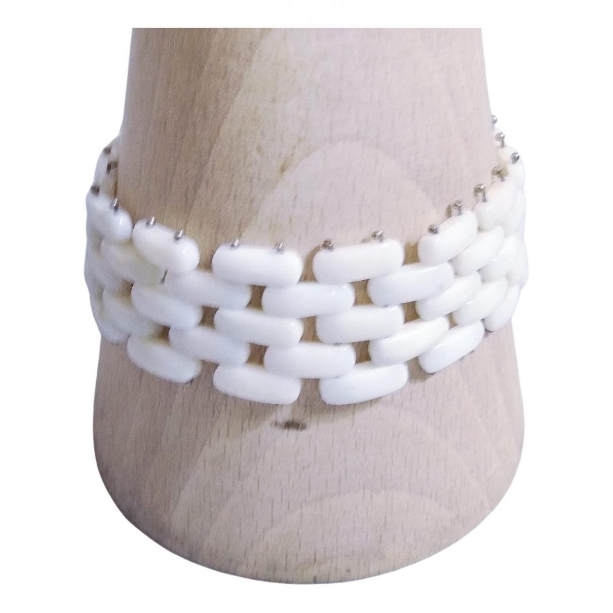 - Bracelet Corail pour femme en argent - blanc