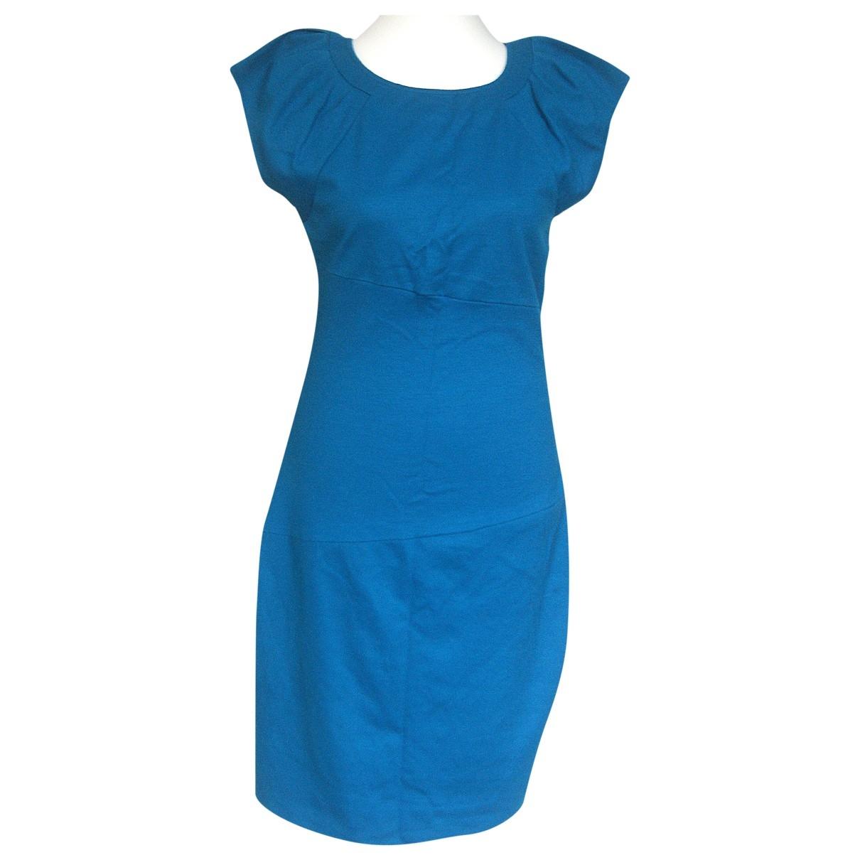 Diane Von Furstenberg \N Turquoise Wool dress for Women 10 US