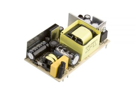 XP Power , 12.5W AC-DC Converter, 5V dc, Open Frame, Medical Approved