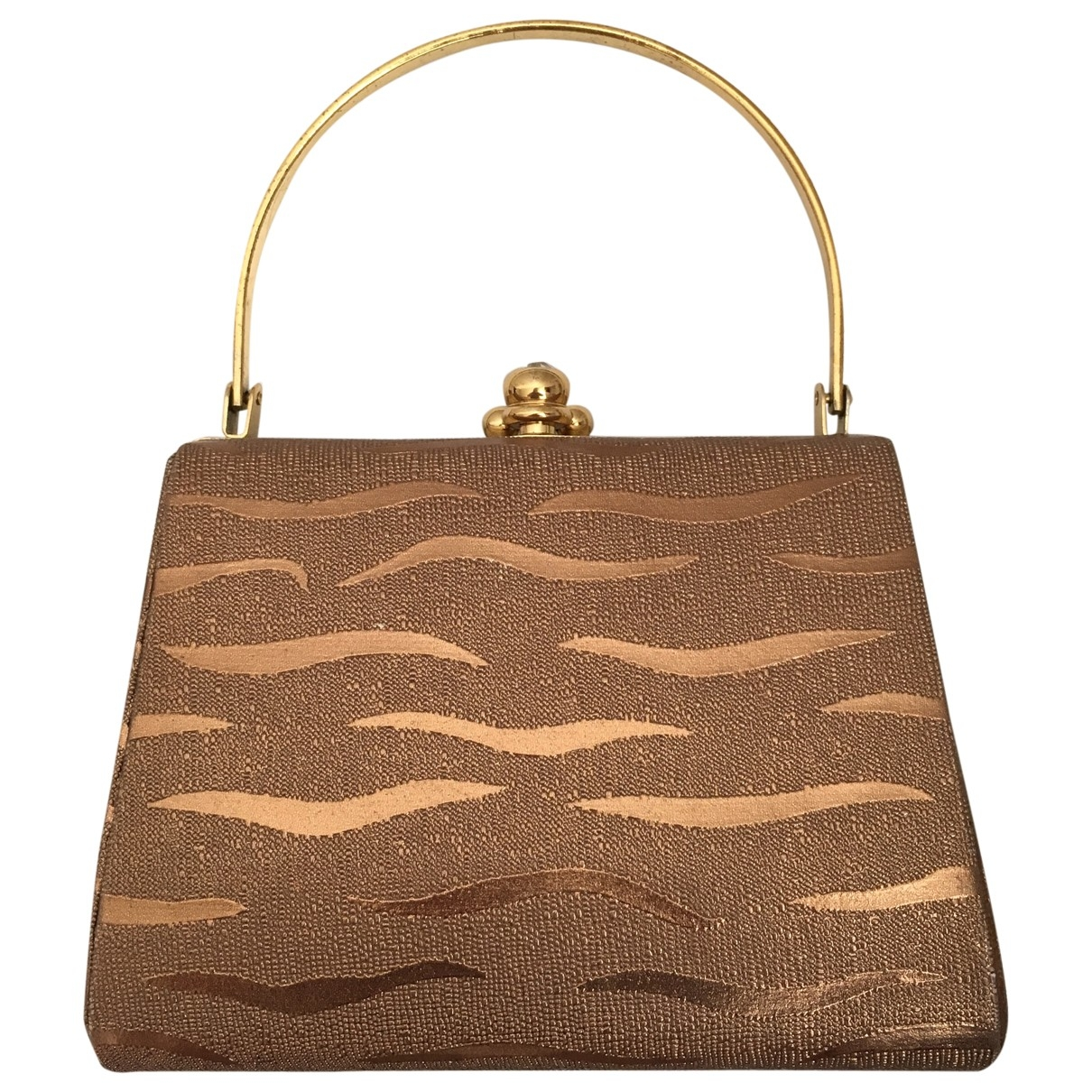 Non Signé / Unsigned \N Gold Cloth Clutch bag for Women \N