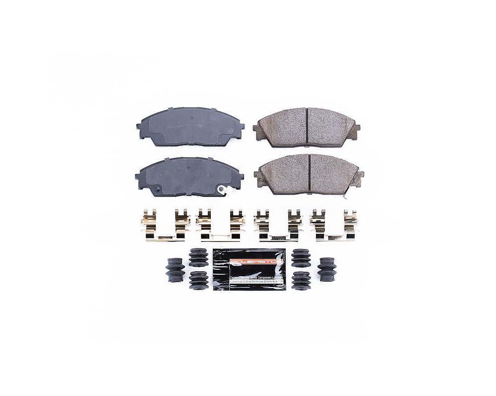 Power Stop Z23-373 Z23 Evolution Sport Brake Pads w/Hardware Front Honda Civic 1990-1991