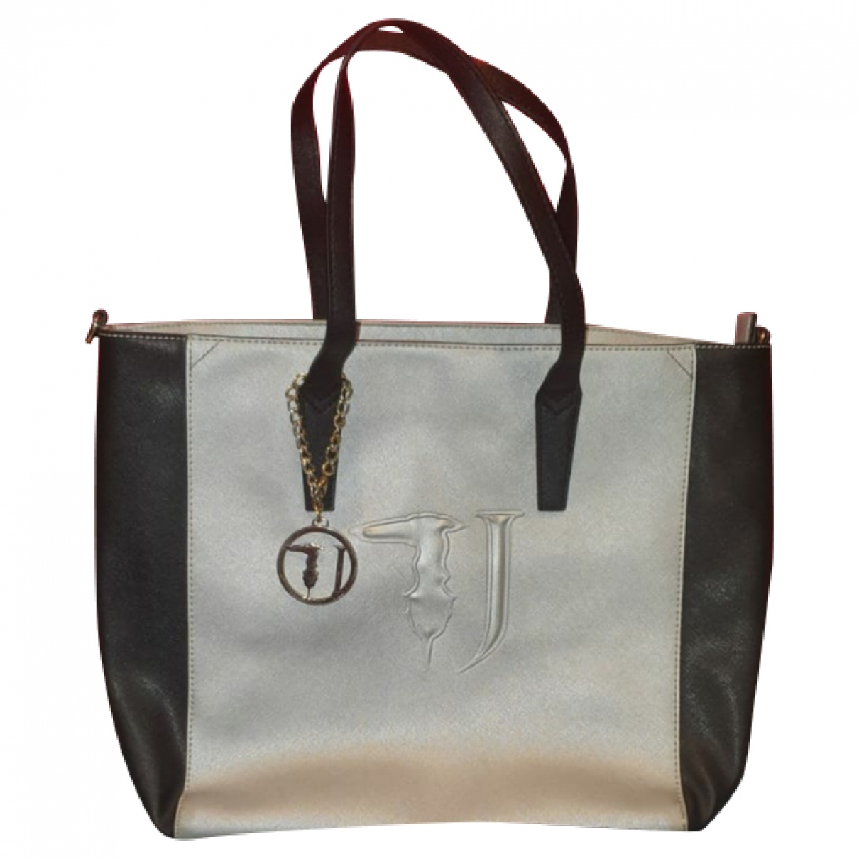 Trussardi Jeans \N Silver handbag for Women \N