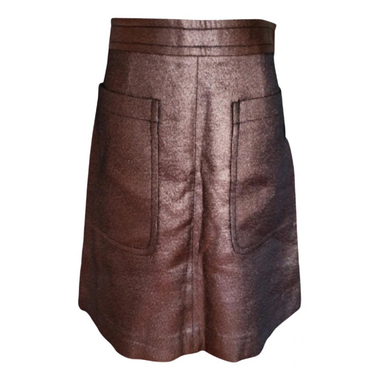 Marc By Marc Jacobs - Jupe   pour femme en coton - marron