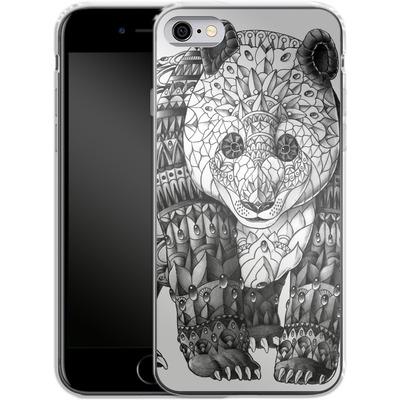 Apple iPhone 6s Silikon Handyhuelle - Panda von BIOWORKZ