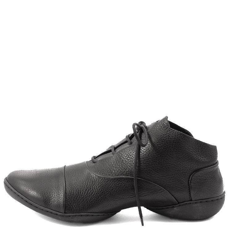 Trippen, Prag m Cup Men's Lace-up Shoes, black Größe 45