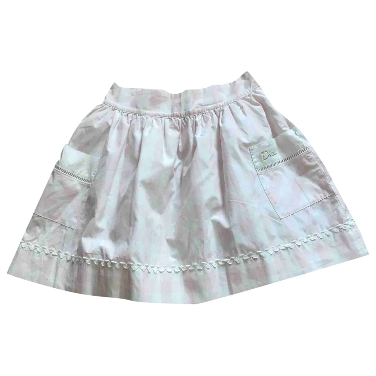 Baby Dior \N Rocke in  Rosa Baumwolle