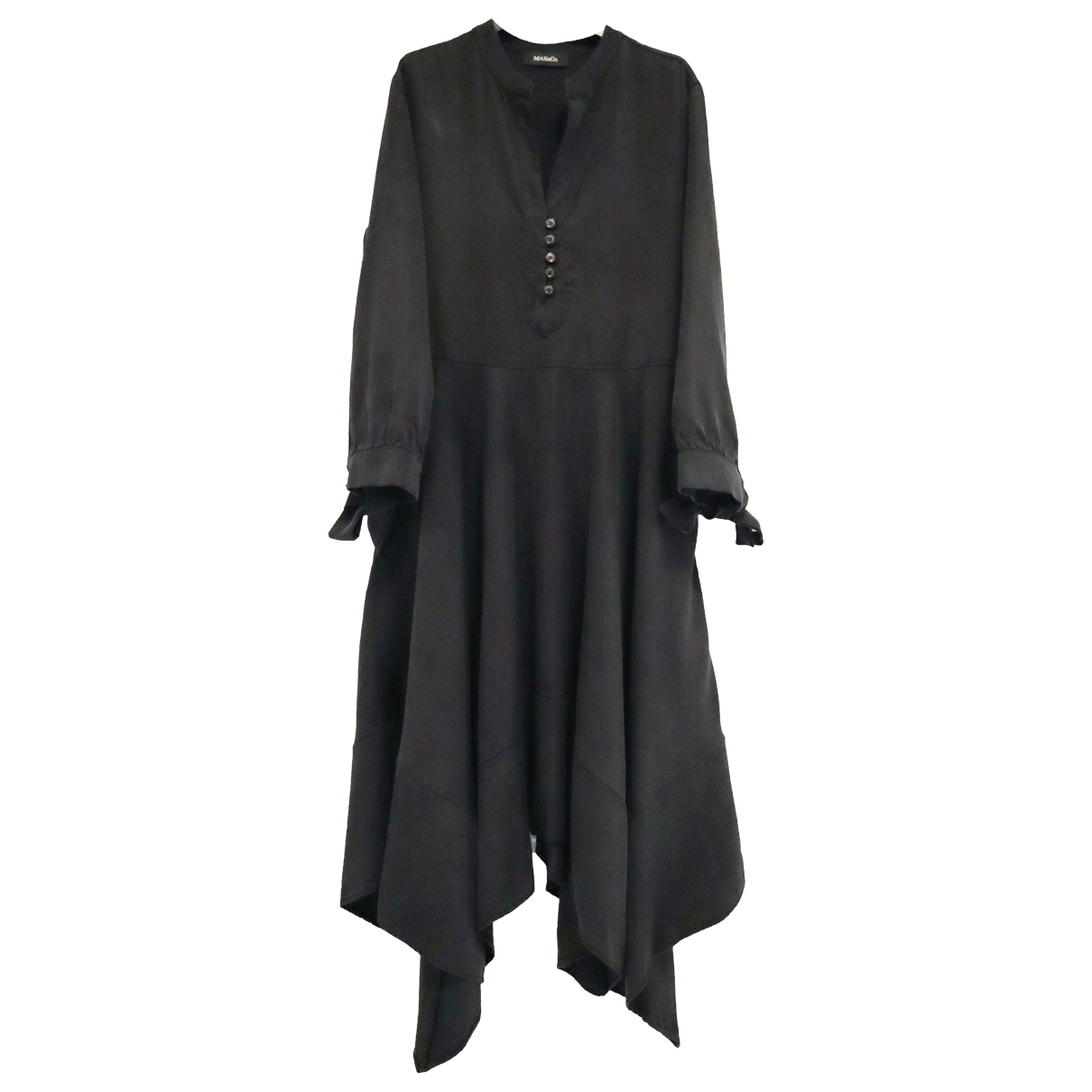 Max & Co \N Black Cotton dress for Women 36 IT