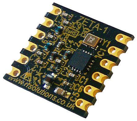 RF Solutions ZETA-433, RF Transceiver 850kHz to 850kHz