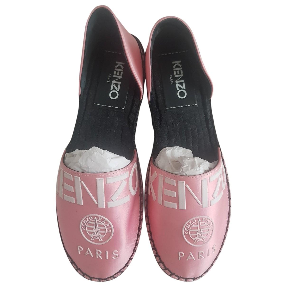 Kenzo - Espadrilles   pour femme en toile - rose