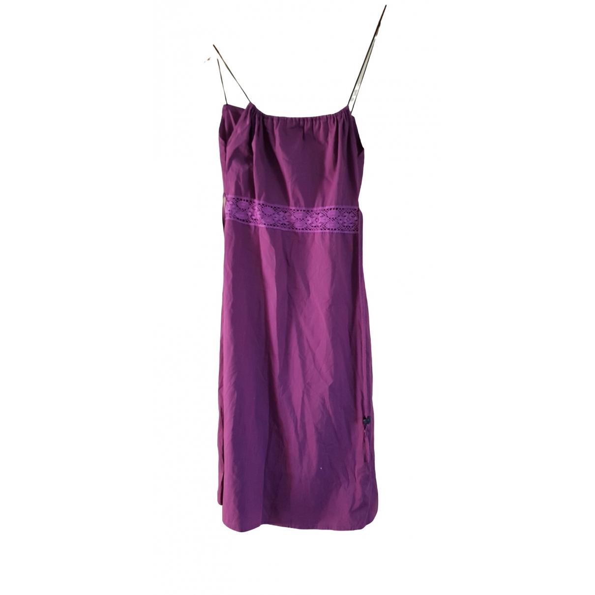 Cop Copine \N Purple Cotton Shirts for Men M International