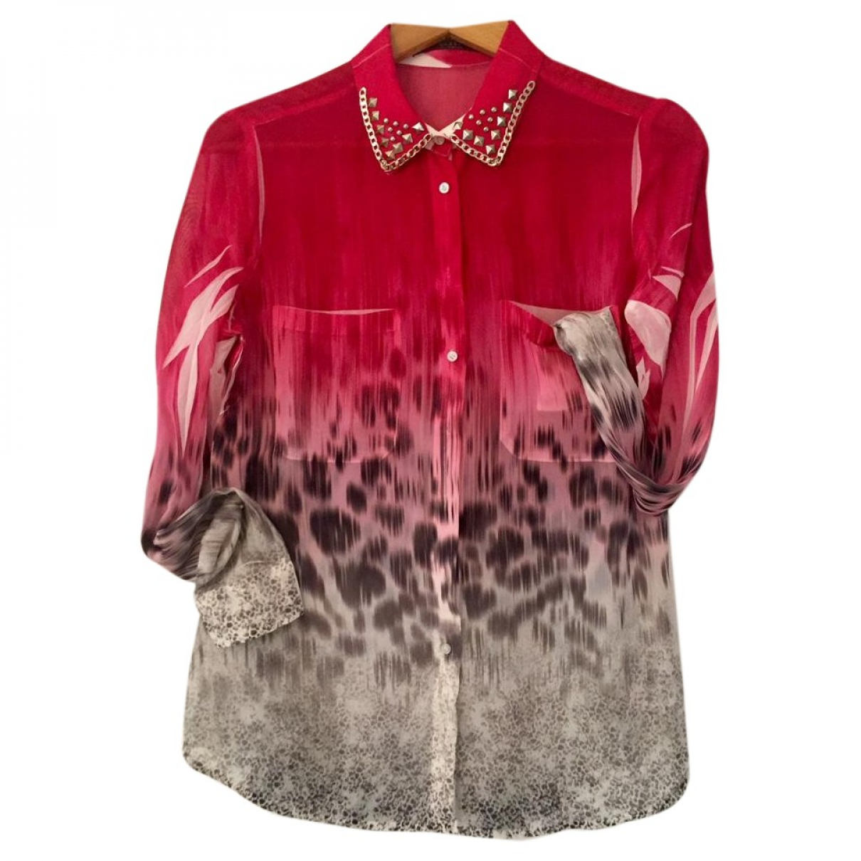 Guess \N Red Cotton  top for Women 36 FR