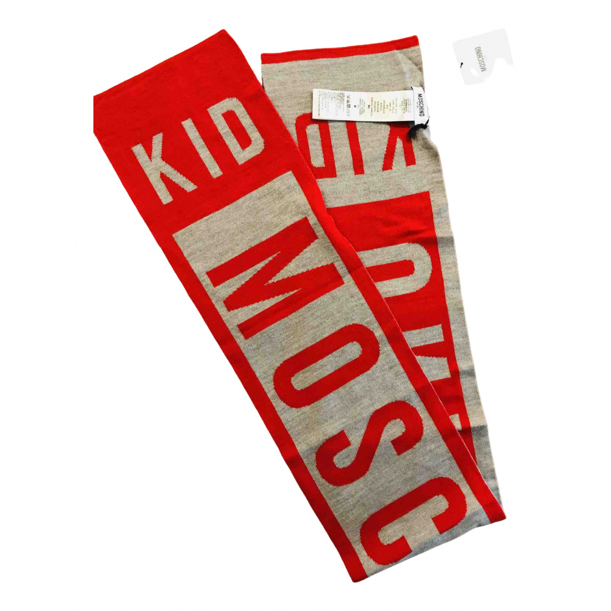 Moschino \N Red Wool scarf for Kids \N
