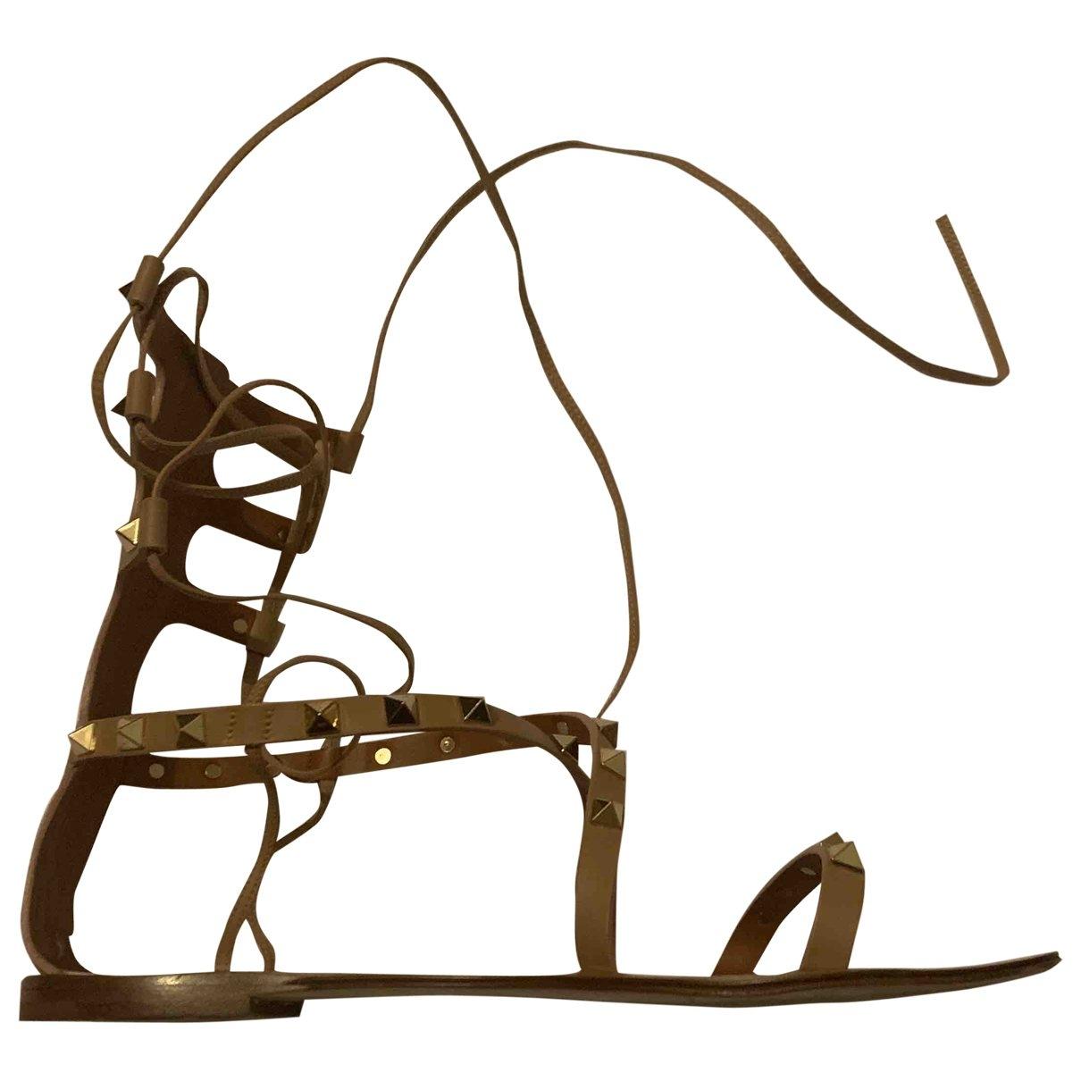 Sandalias romanas de Cuero Valentino Garavani