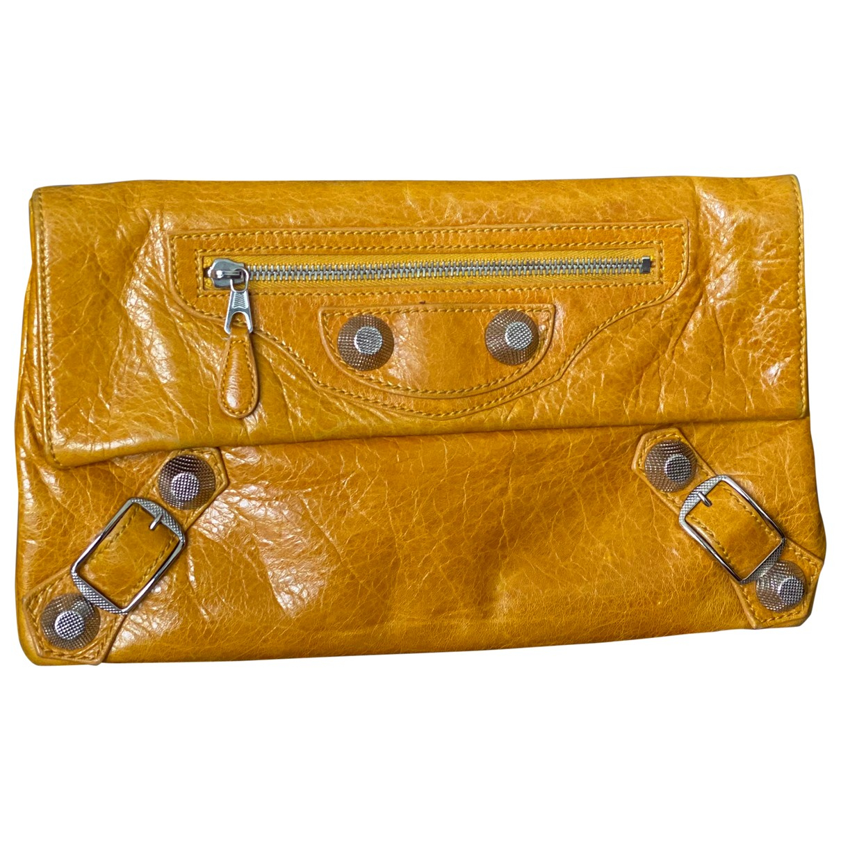 Balenciaga Envelop Leather Clutch bag for Women N