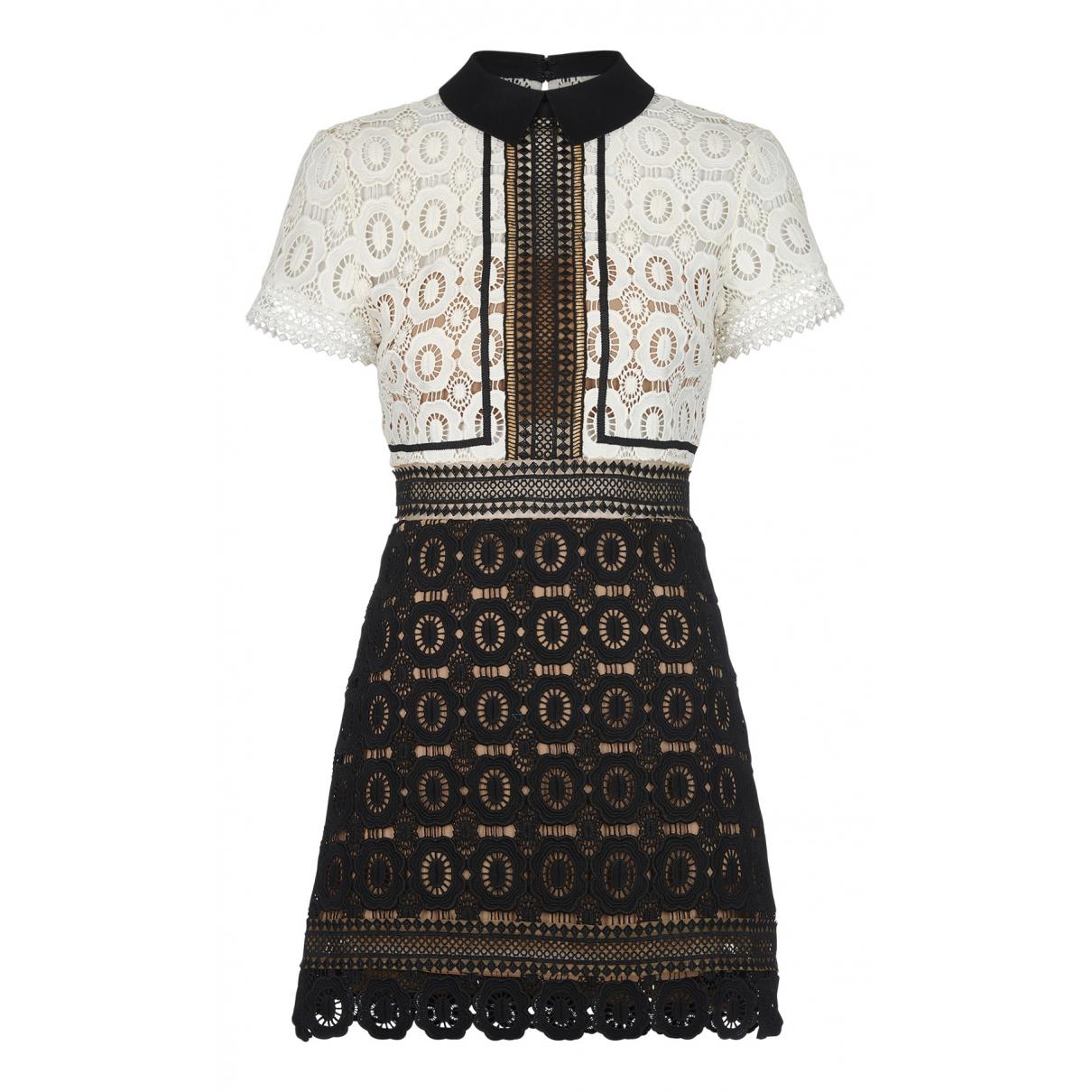 Self Portrait N Multicolour Cotton dress for Women 8 UK