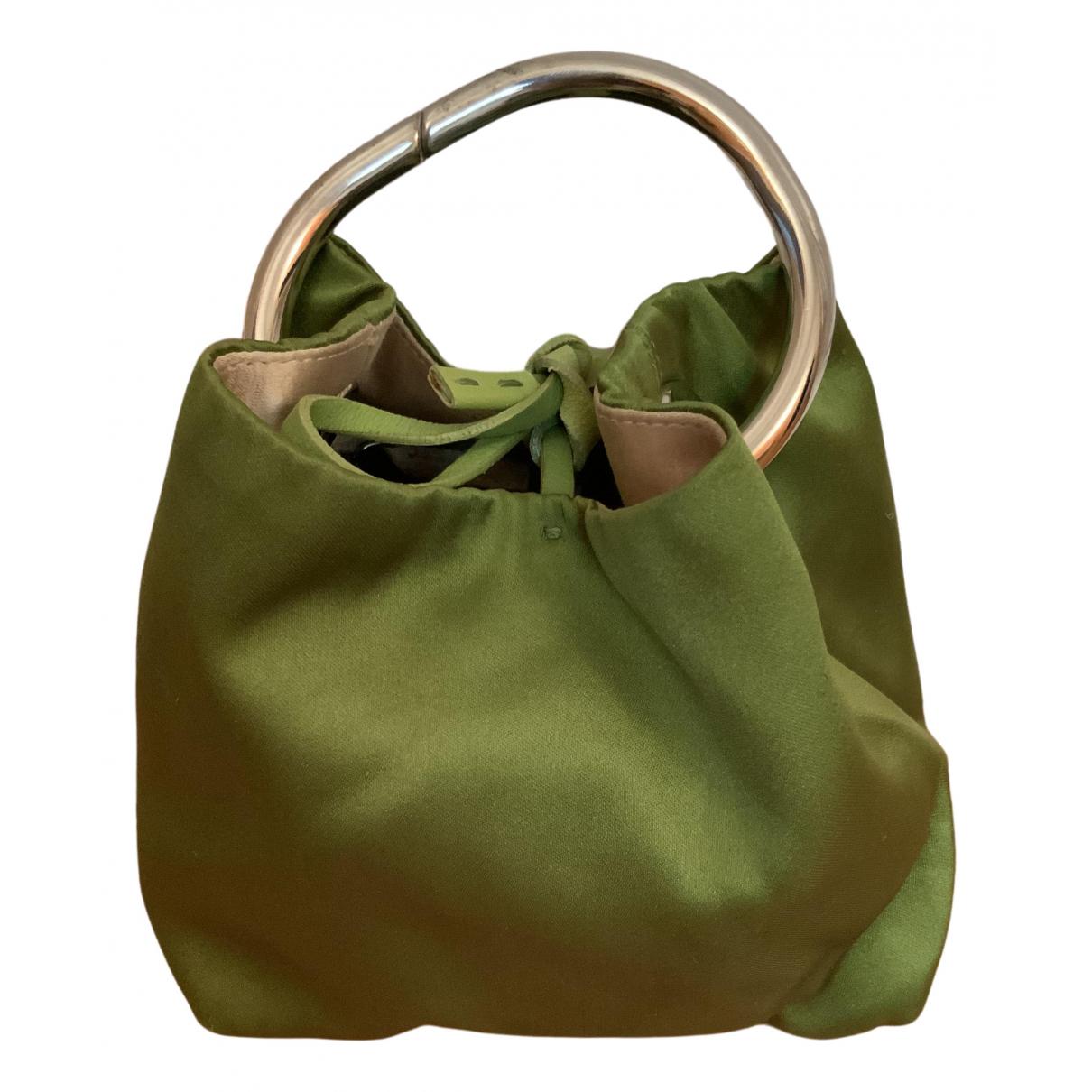 Prada \N Handtasche in  Gruen Seide
