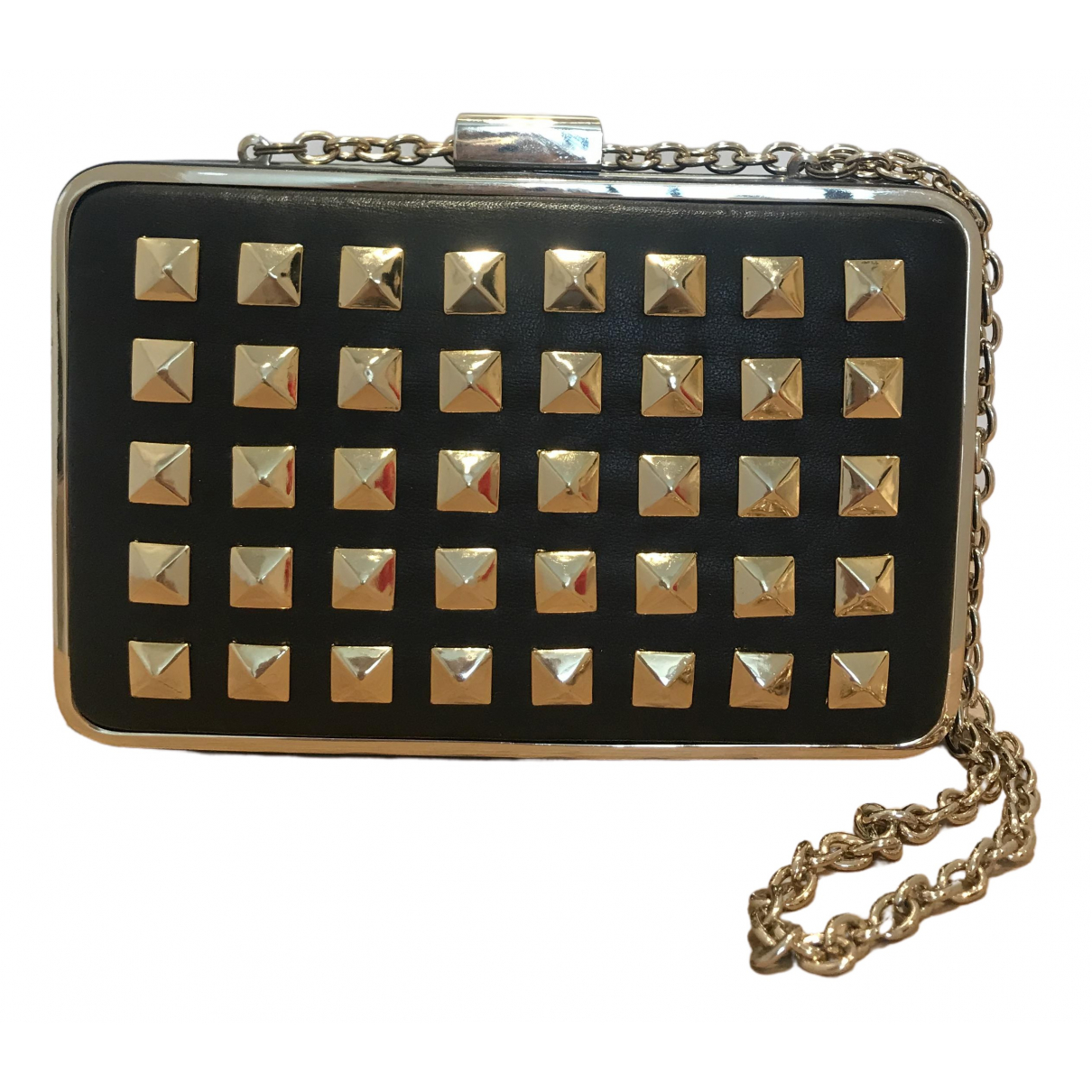 Coccinelle \N Black Leather Clutch bag for Women \N