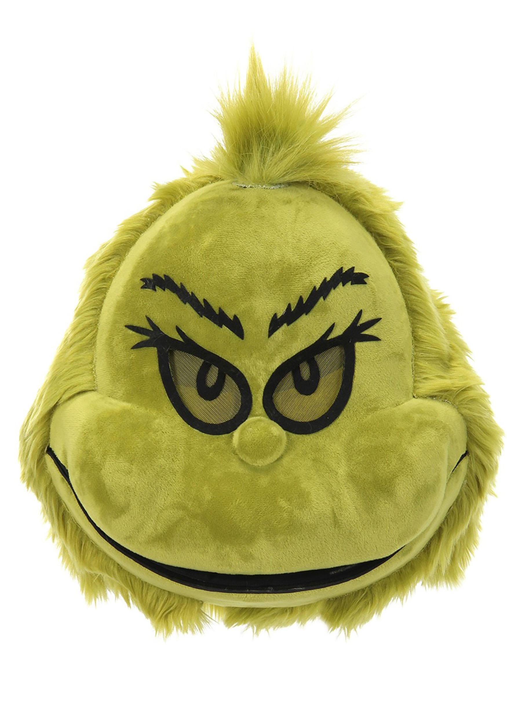 Grinch Furry Mouth Mover Mask
