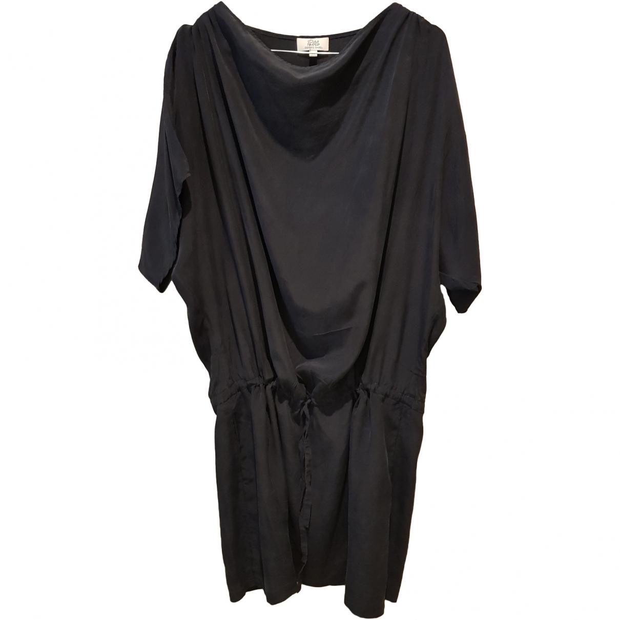 Gerard Darel \N Black Silk dress for Women 38 FR