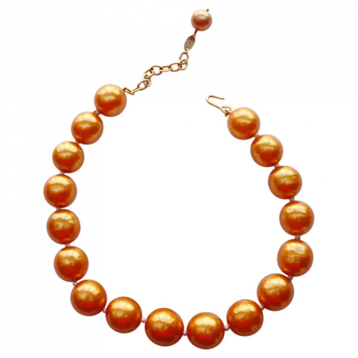 Chanel - Collier   pour femme en autre - orange