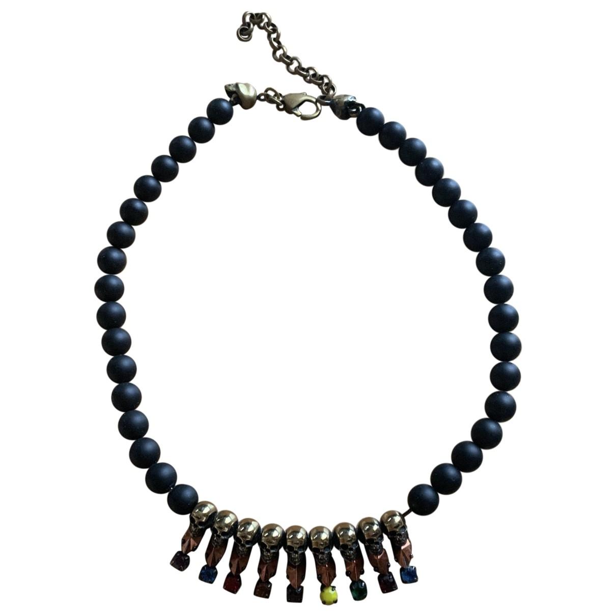 Iosselliani \N Kette in  Schwarz Perlen