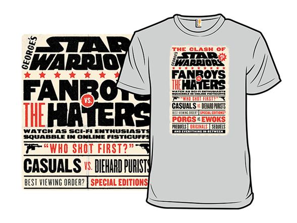 Star Warriors T Shirt