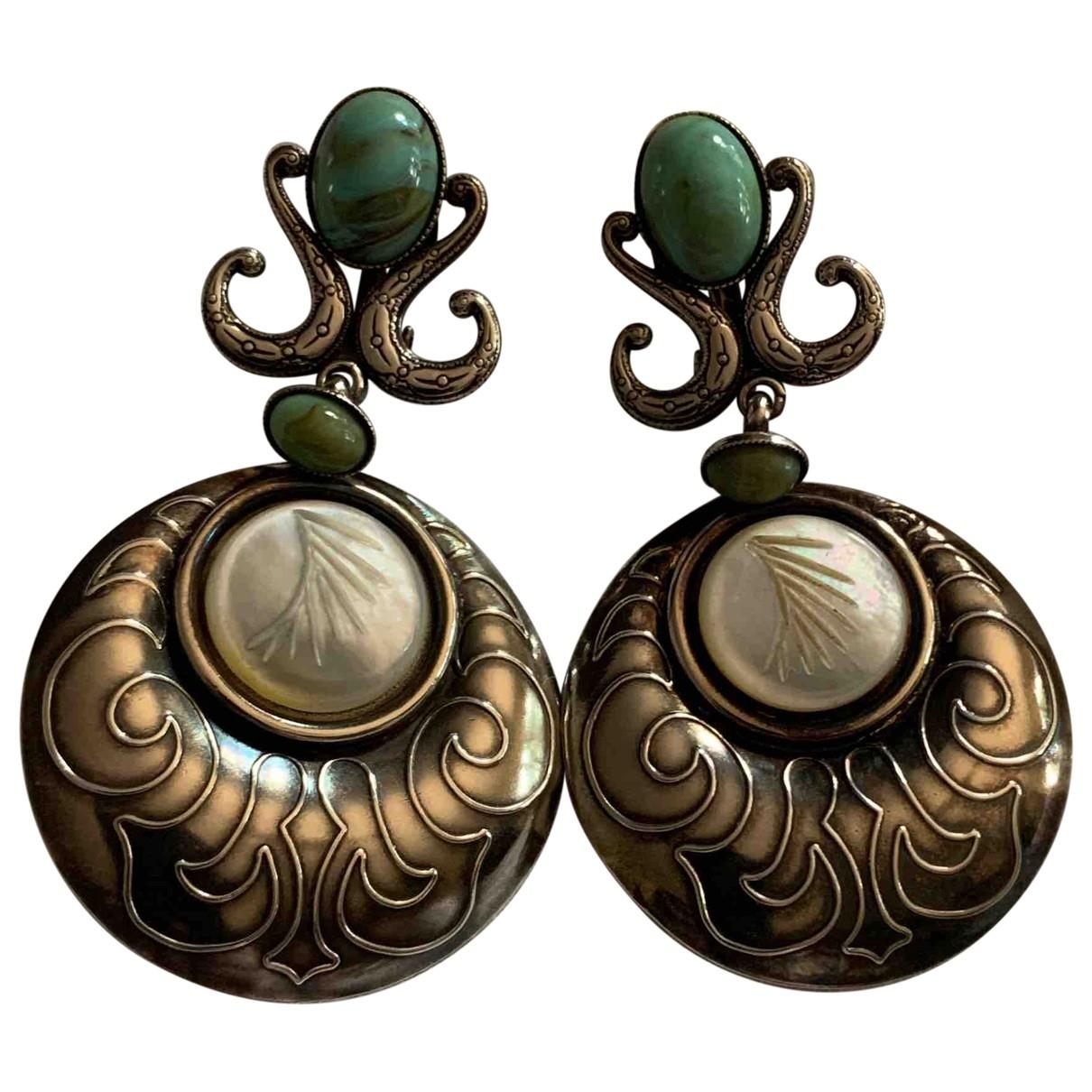 Reminiscence \N Silver Silver Earrings for Women \N
