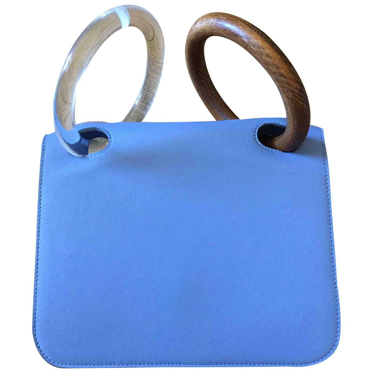 Roksanda \N Handtasche in  Blau Leder