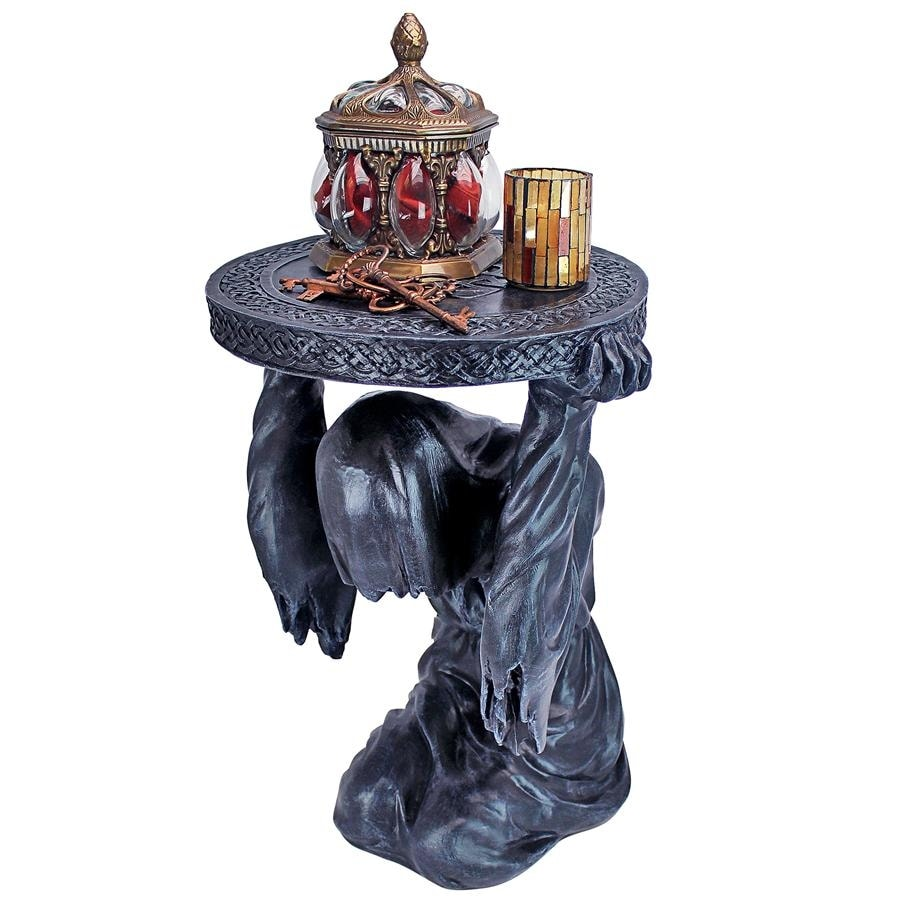 Deaths at Hand Grim Reaper Sculptural Side Table - Multi (Multi)