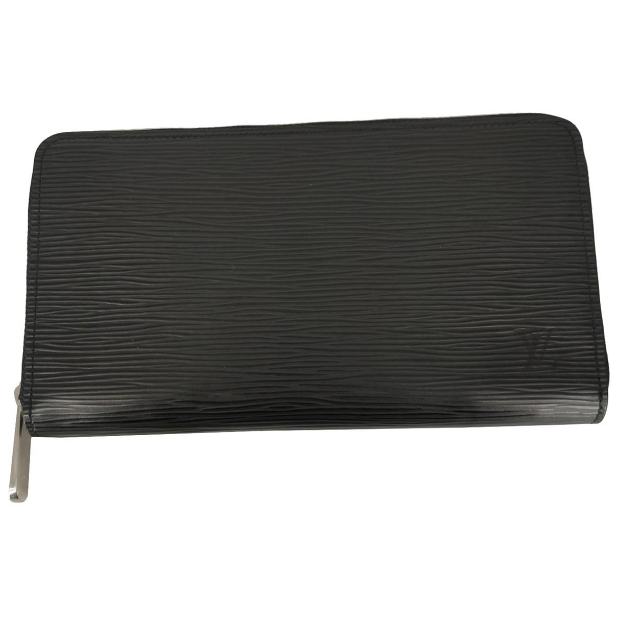 Louis Vuitton - Petite maroquinerie   pour homme en cuir - noir