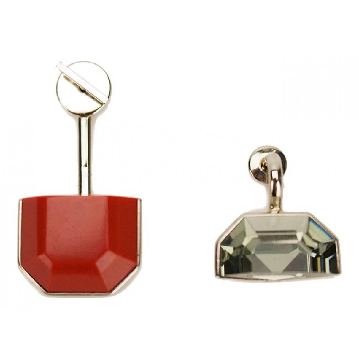 Christian Dior - Boucles doreilles   pour femme en cristal - argente