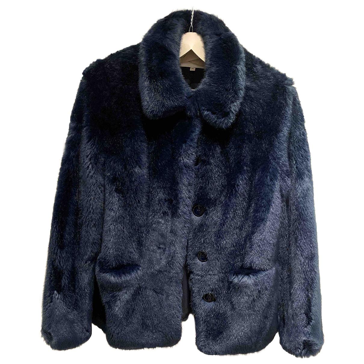 Reiss \N Blue Faux fur jacket for Women XS International