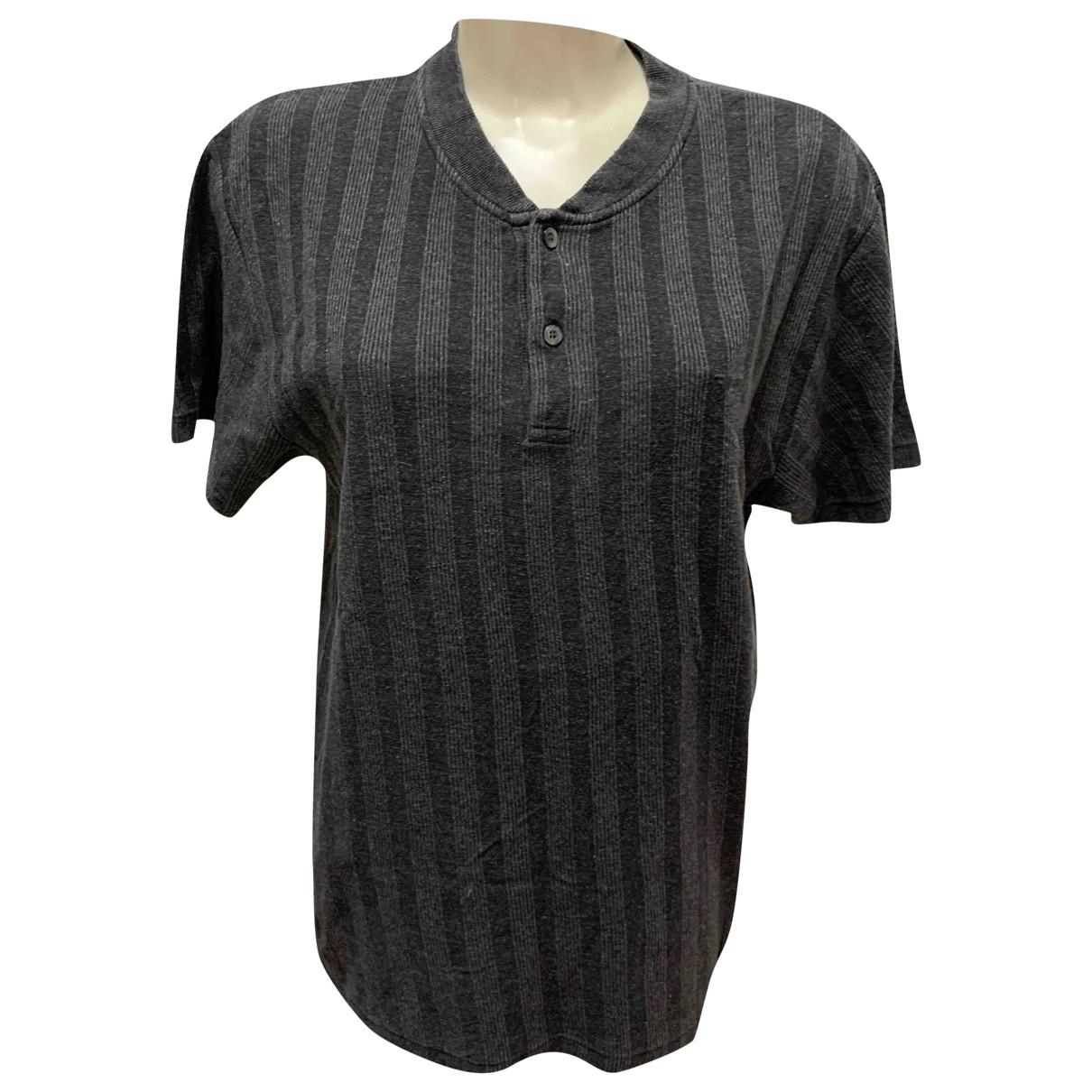 Fila - Polos   pour homme en coton - gris