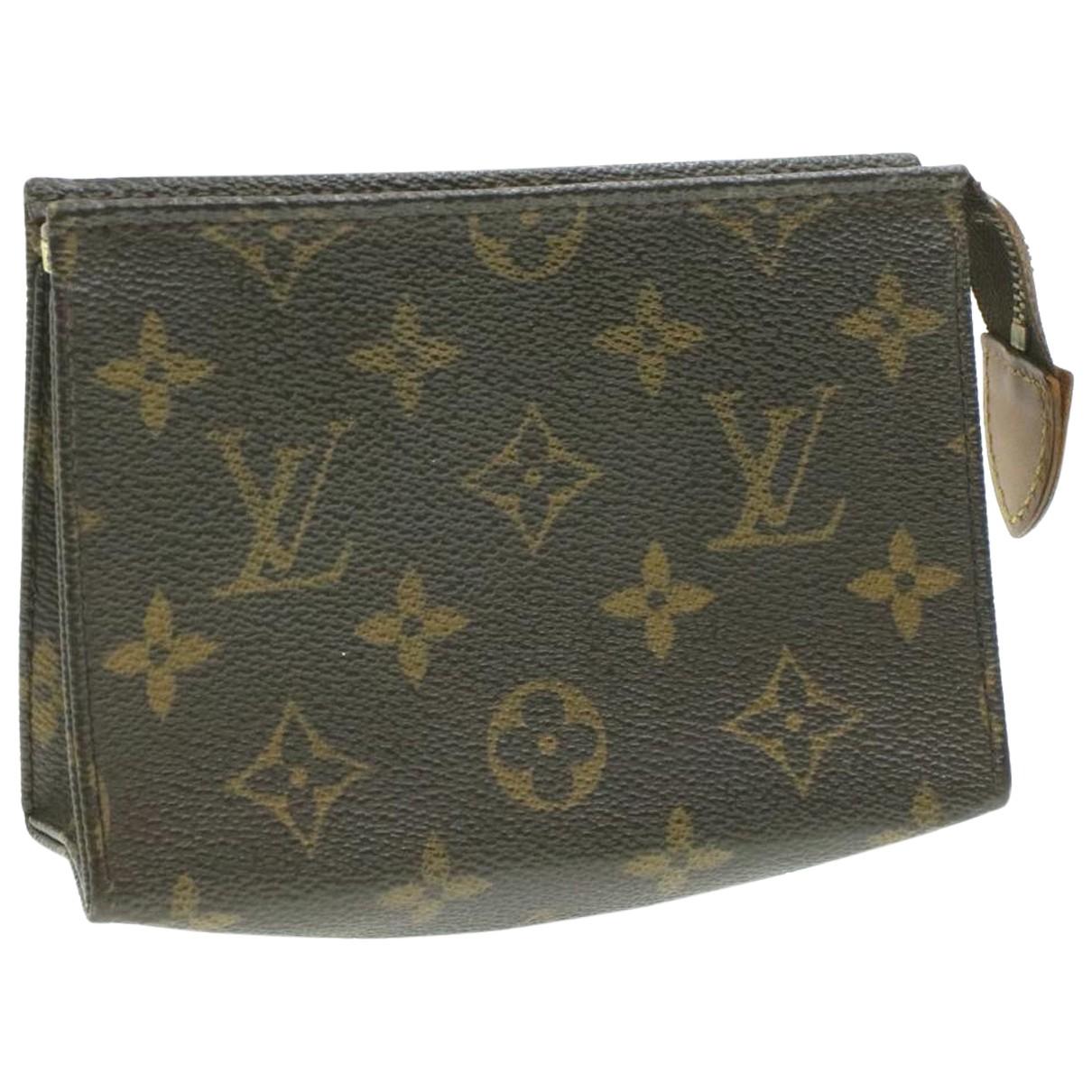 Louis Vuitton N Brown Cloth Travel bag for Women N