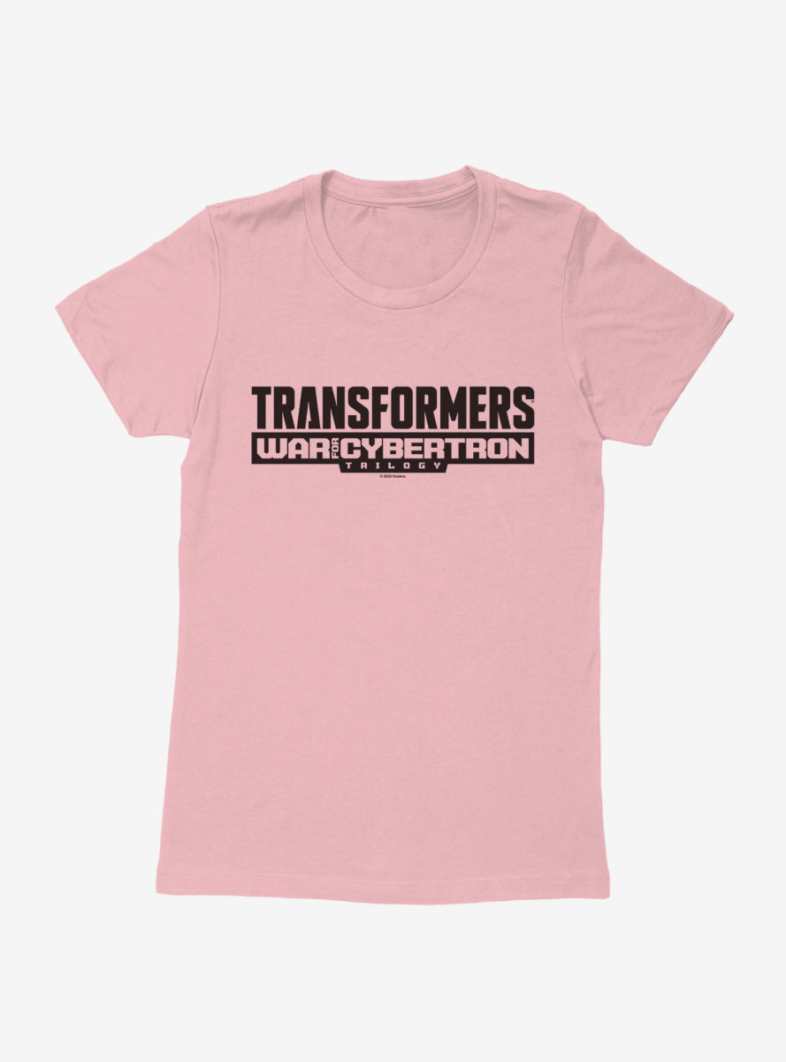 Transformers: War For Cybertron - Siege Trilogy Logo Womens T-Shirt