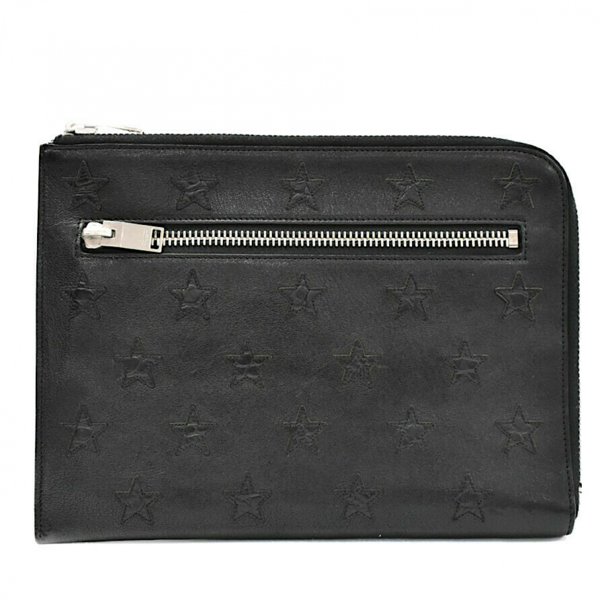 Yves Saint Laurent \N Clutch in Leder