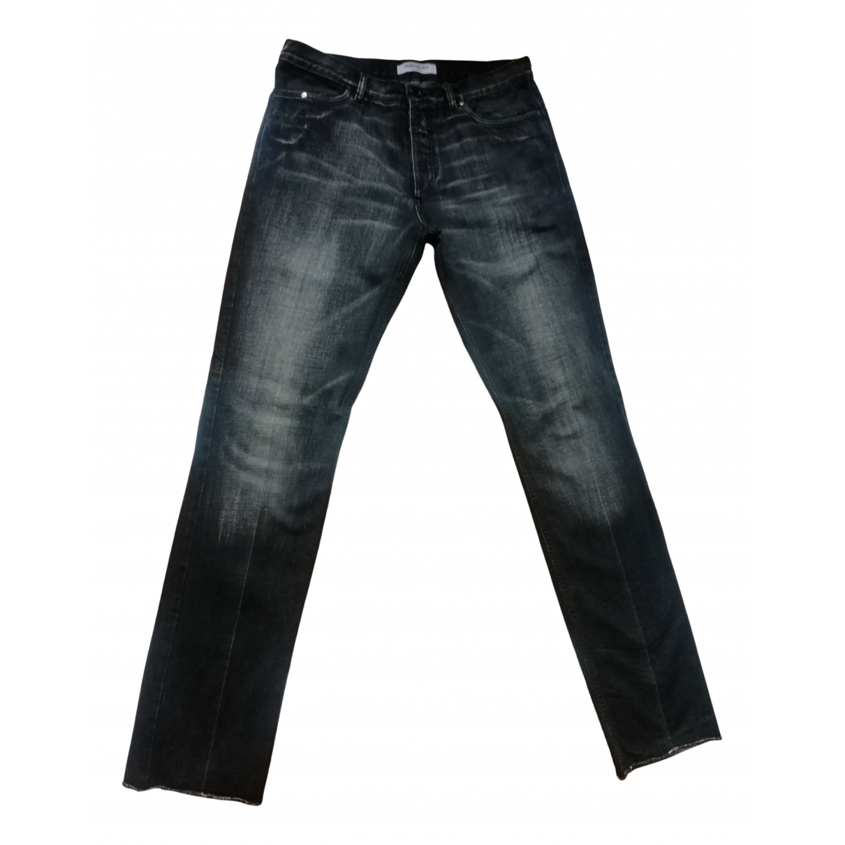 Yves Saint Laurent \N Black Cotton Jeans for Men 38 FR
