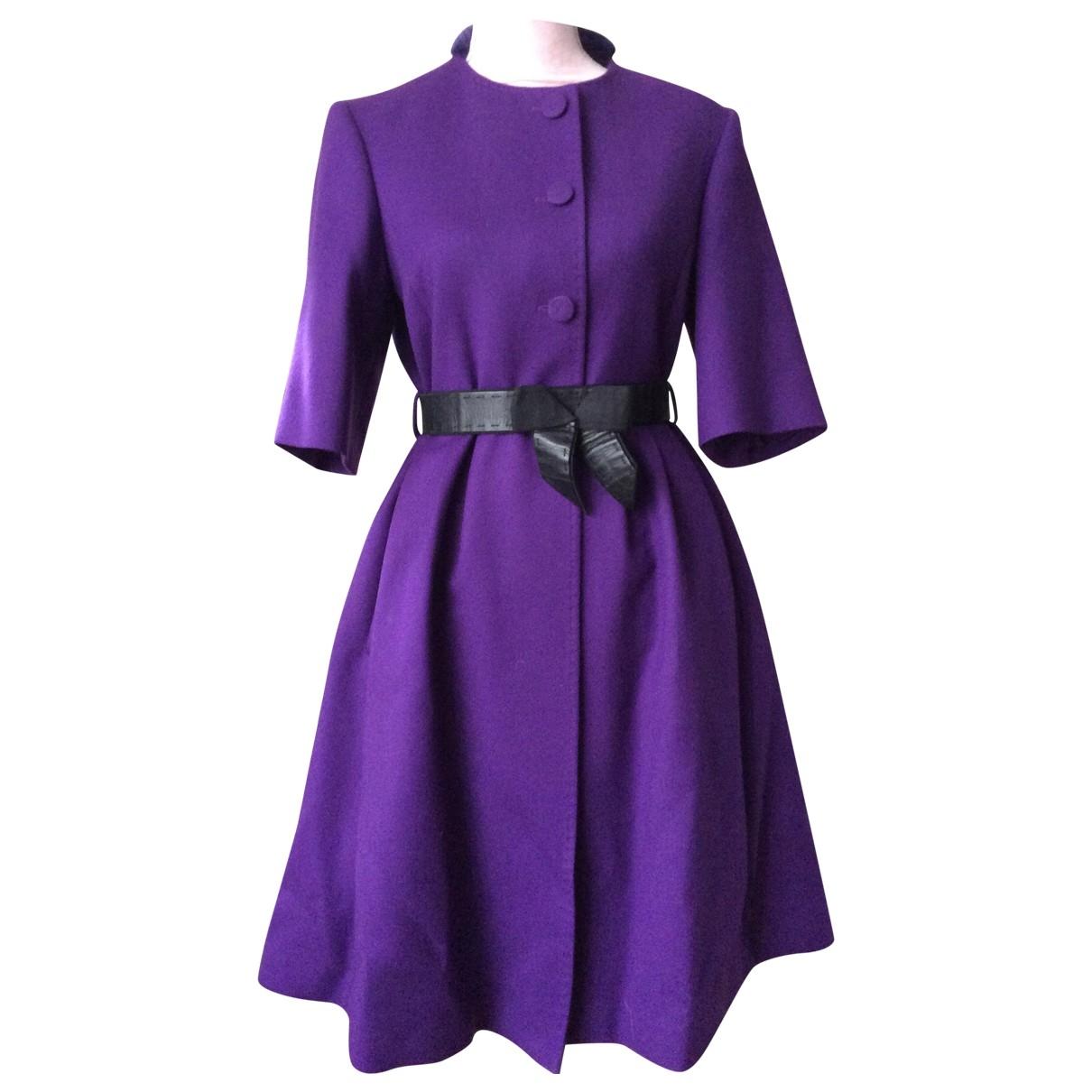 Fendi - Manteau   pour femme en cachemire - violet