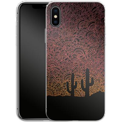 Apple iPhone X Silikon Handyhuelle - Arizona von Kaitlyn Parker