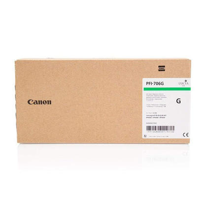 Canon PFI-706G Original Green Ink Cartridge High Yield