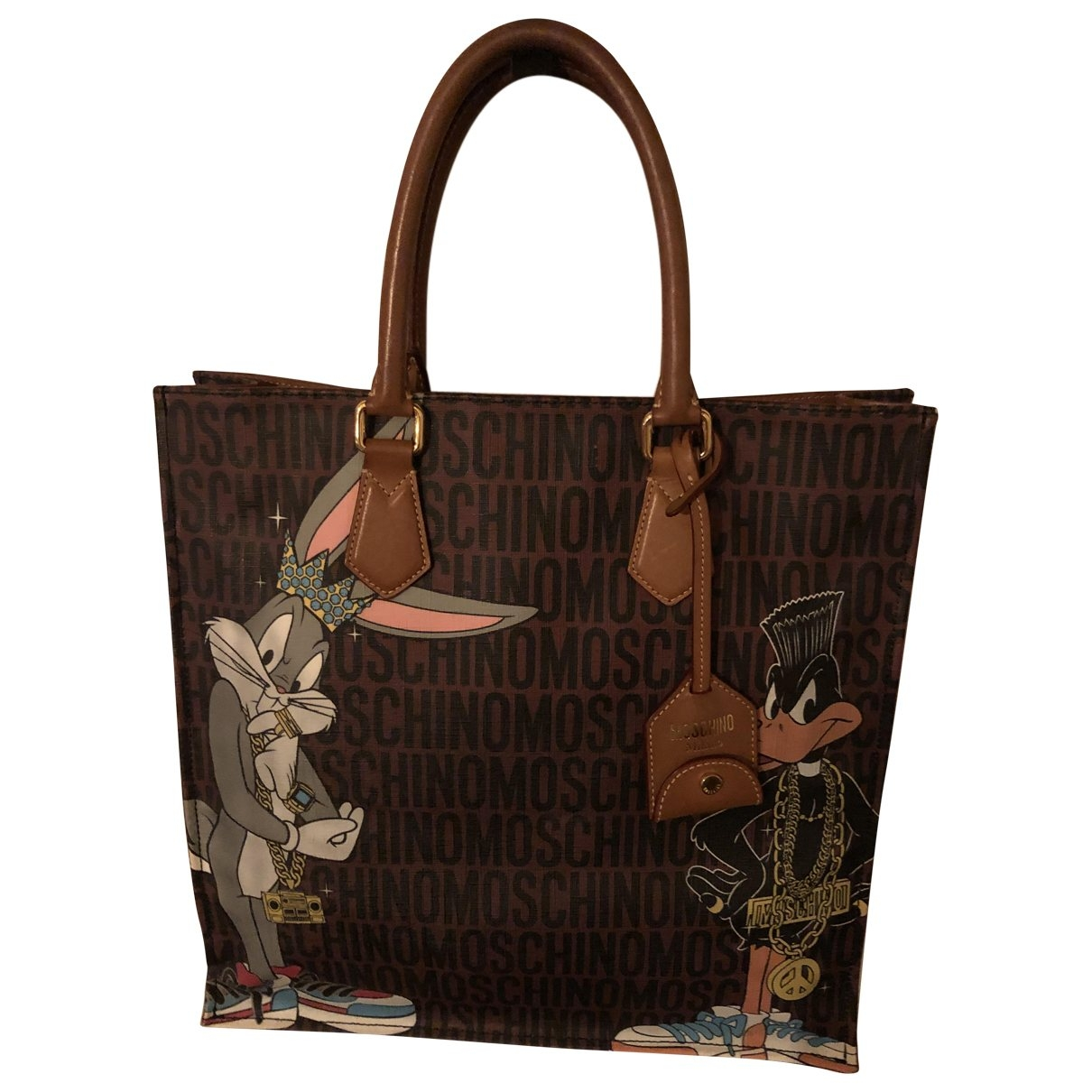 Moschino \N Handtasche in Leinen