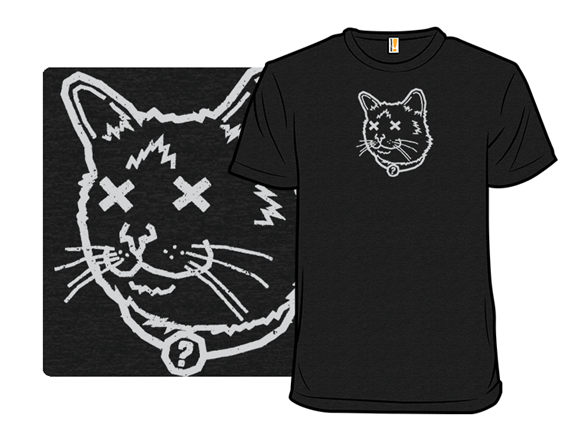 Curiousity Killed The Cat T Shirt