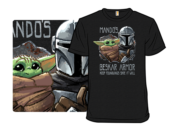 Mandos Beskar Armor T Shirt