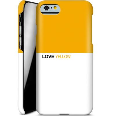 Apple iPhone 6 Smartphone Huelle - LoveYellow von caseable Designs