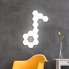 1 Stueck Hexagon formige Wandlampe