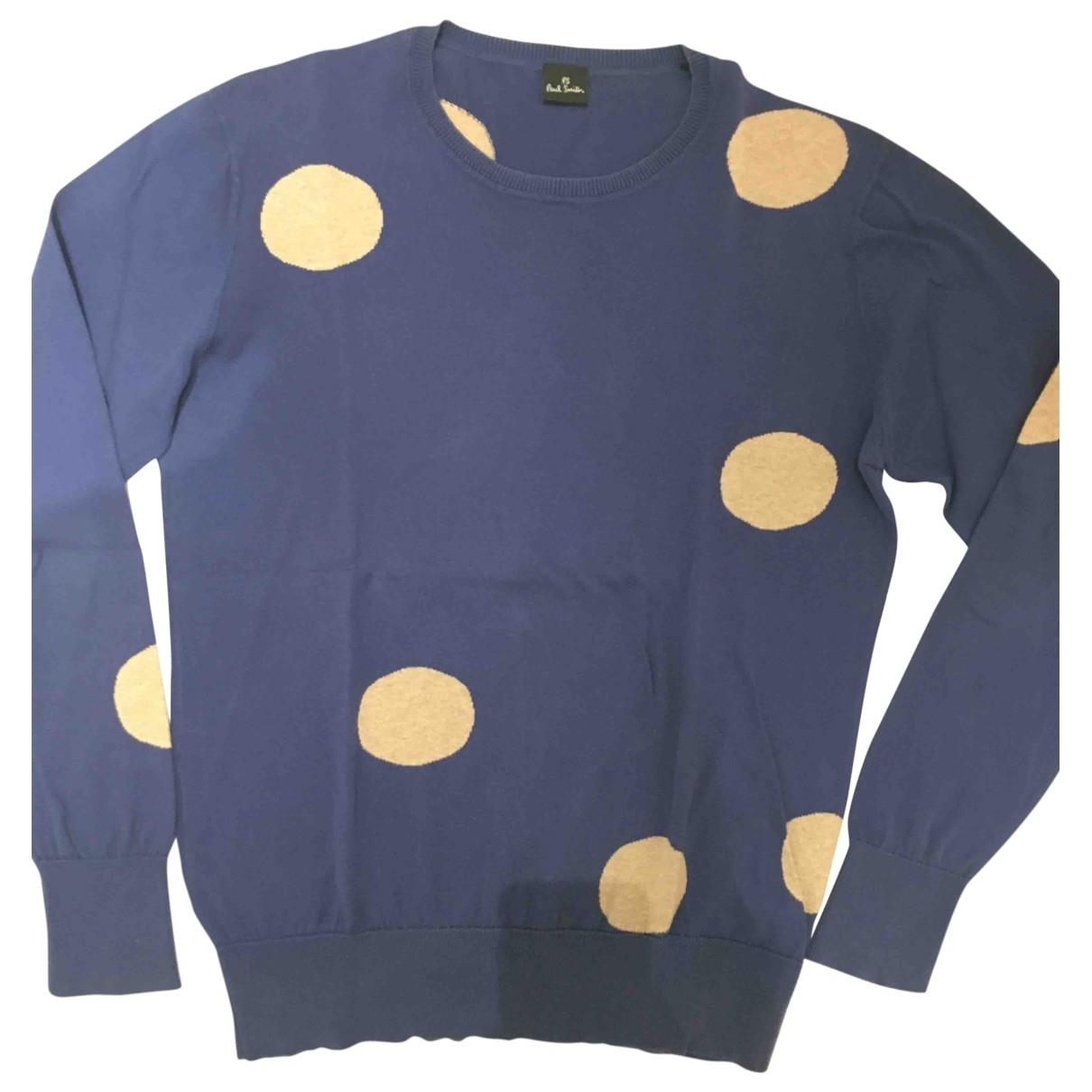 Paul Smith \N Blue Cotton Knitwear & Sweatshirts for Men S International