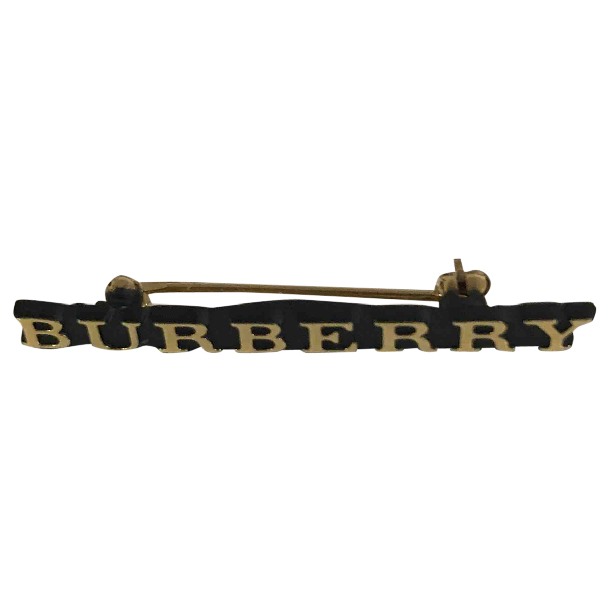Burberry N Gold Metal Pins & brooches for Women N