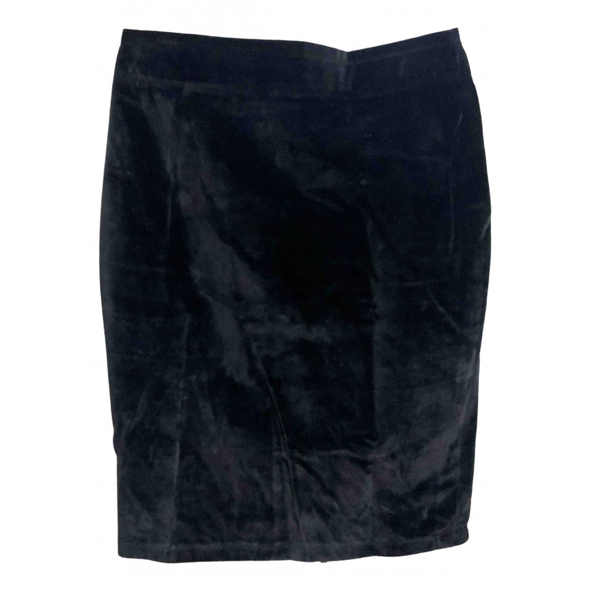 Blumarine - Jupe   pour femme en velours - noir