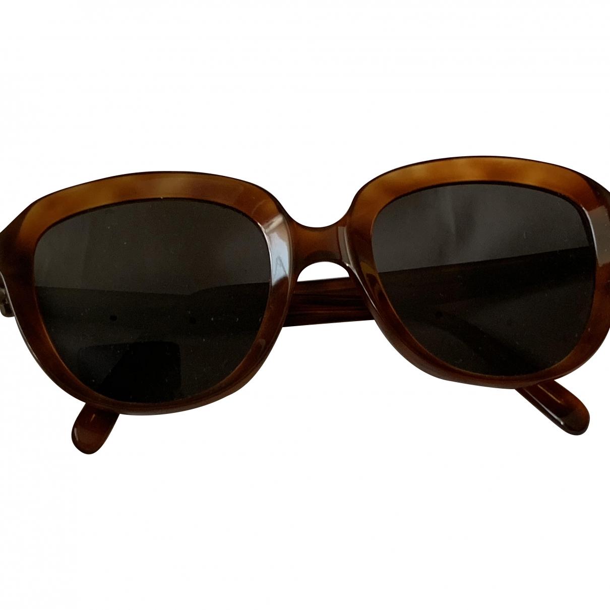 Celine \N Sonnenbrillen in  Braun Kunststoff
